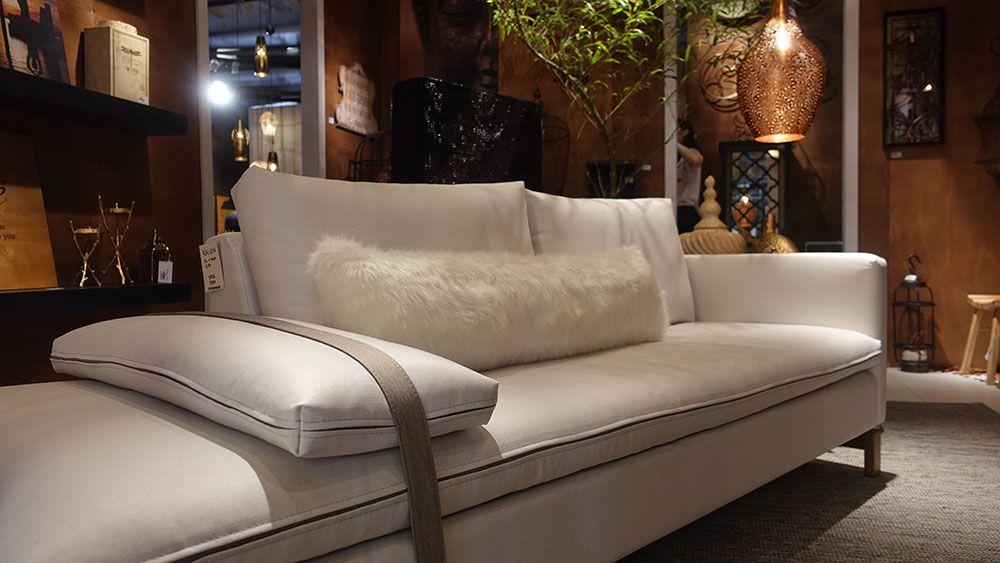 Gostei muito deste sofá, também da Germânia
