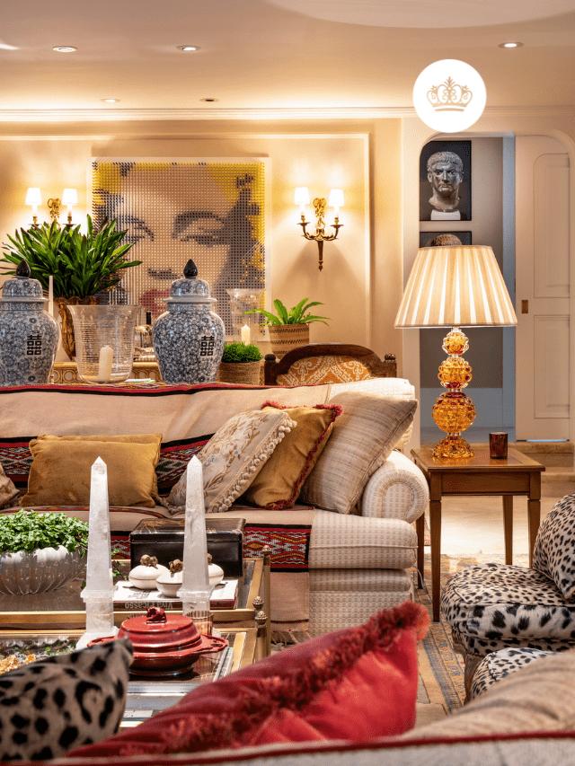 Apartamento com decoração clássica