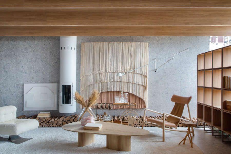 Decoração com madeira na CasaCor 2021
