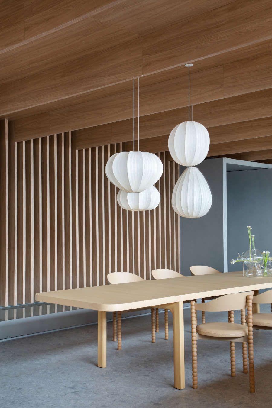 Decoração com porcelanato e madeira na CasaCor 2021