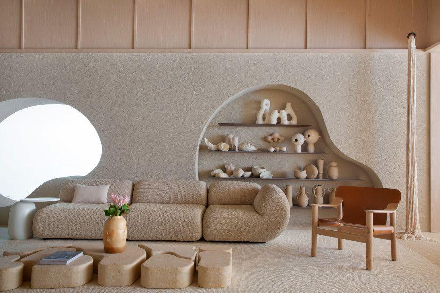Arquitetura formas orgânicas CasaCor 2021 Nildo José