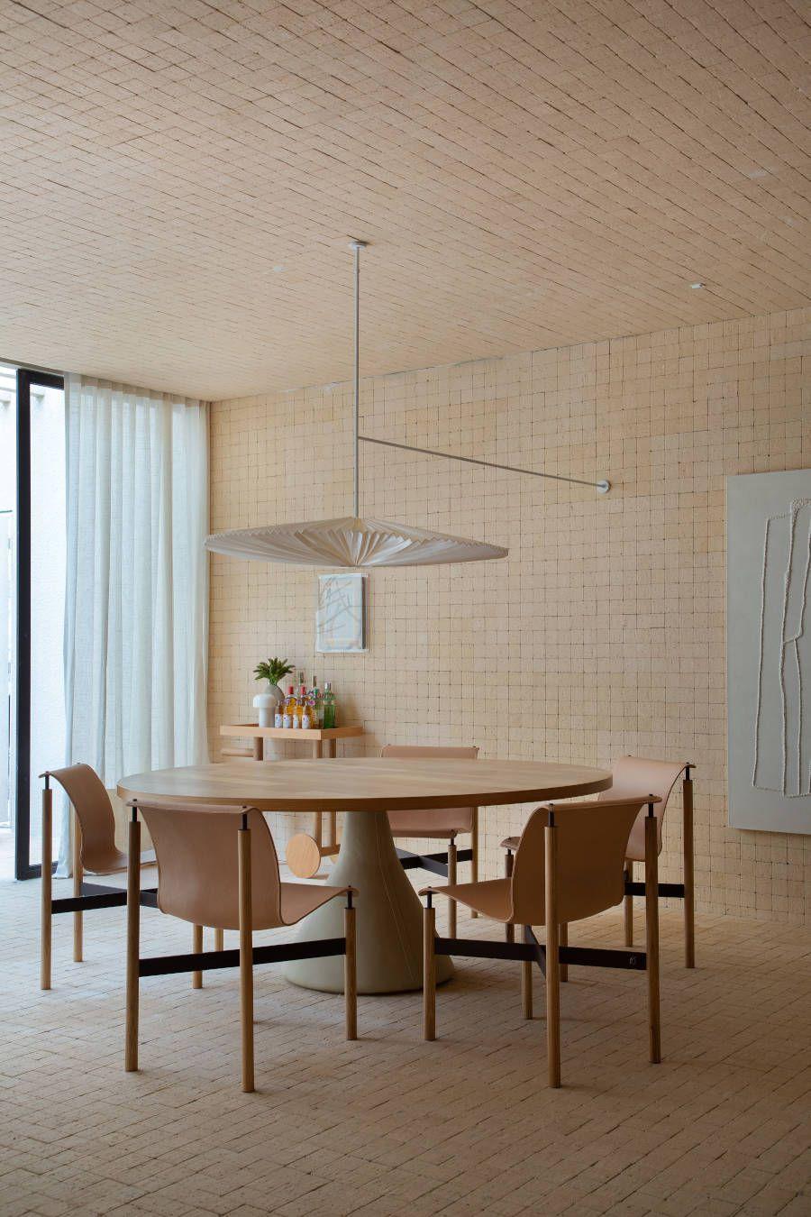 Decoração minimalista monocromático CasaCor